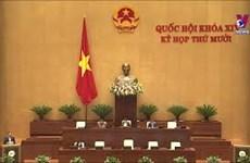 国会通过关于2021年经济社会发展计划的决议