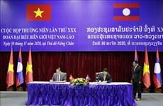 越南与老挝考虑恢复整个边境线的货物通关