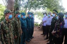 组图:安江省领导对边境地区新冠肺炎疫情防控工作进行检查
