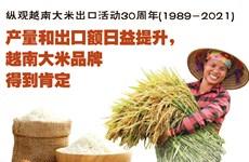 图表新闻:纵观大米出口活动30周年:产量和出口额日益提升,越南大米品牌得以肯定