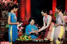 组图:尽显越南风韵的奥黛身影