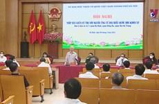 越南领导人与选民接触   代表与选民零距离接触