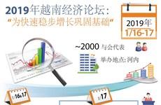 """图表新闻:2019年越南经济论坛 """"为快速稳步增长巩固基础"""""""
