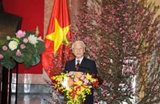 越共中央总书记、国家主席阮富仲发表2019年己亥新春贺词