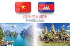 图表新闻:越南与柬埔寨的传统团结友谊