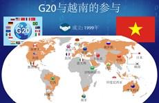 图表新闻:G20与越南的参与