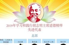 图表新闻:2019年学习和践行胡志明主席道德榜样先进代表
