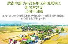 图表新闻:越南中部以南沿海地区和西原地区新农村建设10周年回顾