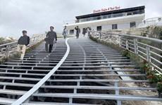 莱州省云龙玻璃桥生态旅游区开门迎客