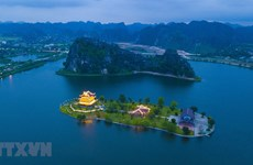 组图:欣赏宁平市绝美夜景