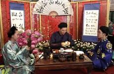 恰逢端午节观赏宫廷茶艺