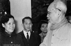 组图:胡志明主席一直对越通社给予特殊的关注