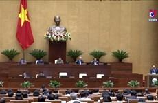 政府总理阮春福现场接受国会代表询问