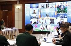 组图:2020年东盟年:东盟国防高级官员视频会议