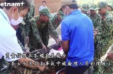 广南省南茶媚县茶棱乡泥石流事故给当地居民造成严重影响