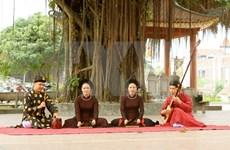 组图:海防市东门村——背部沿海地区筹曲艺术的摇篮