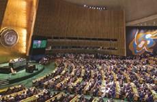 图表新闻:越南在联合国安理会轮值主席岗位上主持召开安理会高级别公开辩论会