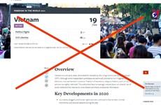 自由之家组织有关越南自由权的报告毫无道理