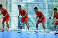 组图:越南室内五人制足球队全力冲击2021年国际足联俱乐部世界杯