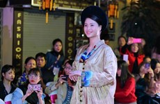 """11•23越南文化遗产日:题为""""昔日之美""""系列文化活动在河内古街区举行(组图)"""