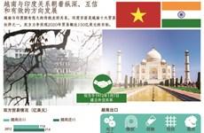 图表新闻:越南与印度关系朝着纵深、互信和有效的方向发展