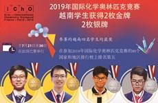 图表新闻:2019年国际化学奥林匹克竞赛:越南学生获得两金两银