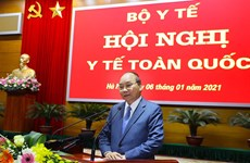 阮春福总理:卫生部要制定贴近越共十三大决议目标的具体行动计划