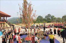 祈雨仪式——山萝省白傣族人的特色信仰文化活动(组图)