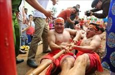 越南坐地拔河荣获UNESCO颁发的非物质文化遗产证书(组图)