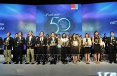 越南最佳运营绩效公司50强出炉