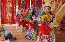 娘娘庙的南方民间舞台(组图)