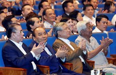 """阮春福出席2019年""""全国携手关爱困难群众""""活动(组图)"""