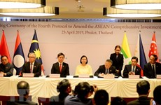 越南批准《东盟服务贸易协议》
