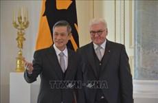越南驻德国大使阮明武:德方同意巩固和充实越德战略伙伴关系内涵
