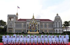 泰国新一届内阁正式宣誓就职