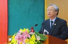 越共中央书记处书记陈国旺:彻底处置严重复杂的腐败案件和经济案件