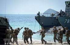"""来自29个国家的士兵参加""""金色眼镜蛇—2020""""联合军演"""
