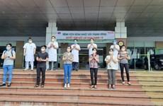 越南8日下午新增8例被宣布痊愈