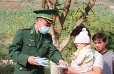 [MegaStory] 奋战在新冠肺炎防控一线的越南边防部队:边境地区的情义口罩(第三期)
