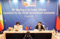 """越南优先致力于一个""""齐心协力与主动适应的东盟""""的目标"""