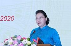 越南国会主席阮氏金银出席新潮国民大会75周年、八月革命和九·二国庆节75周年纪念活动
