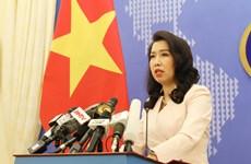 外交部发言人黎氏秋姮:越南呼呼各方为维护东海和平、稳定和安全负起责任
