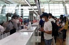 250名在韩越南公民已安全回国