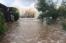 """老挝总理就越南中部各省遭受台风""""红霞""""严重影响向阮春福总理致慰问信"""