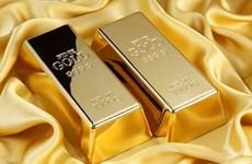 27日上午越南国内黄金价格每两上调10万越盾