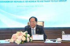 韩国驻越南大使朴能运:愿意加强FLC与各韩国伙伴之间的对接沟通