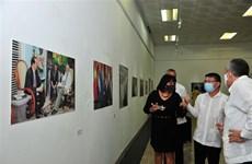 越南与古巴团结关系60周年图片展开展
