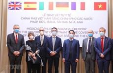 越南与国际携手应对新冠肺炎疫情