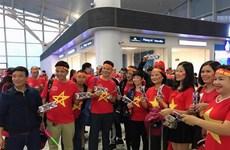 越南球迷前往马来西亚为球队加油助威(组图)