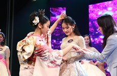 越日大学研究生陈妙英成为2019年樱花亲善大使(组图)